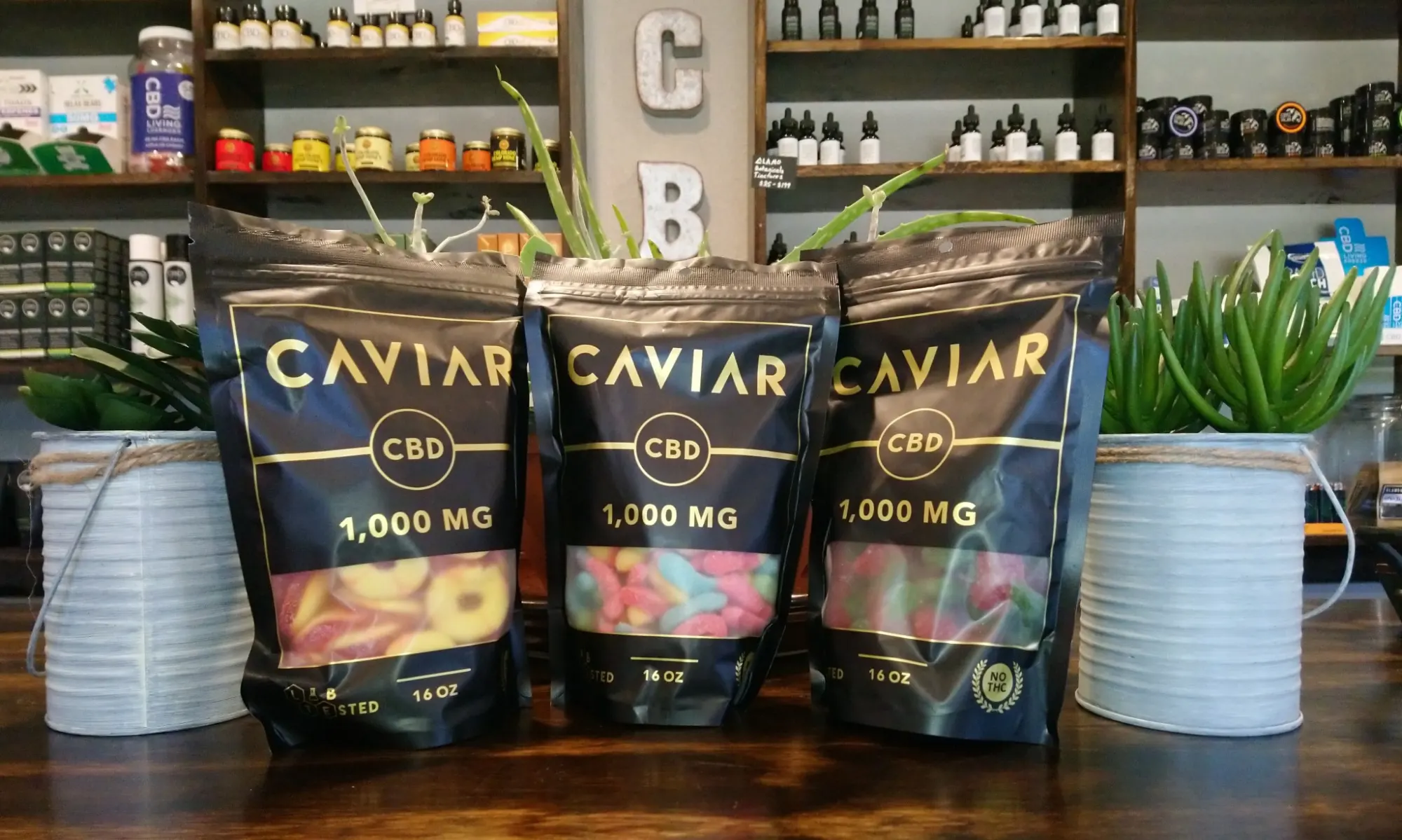 Caviar | Watermelon Gummies 1000 mg CBD